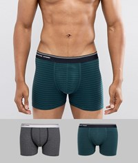 Selected Homme Trunks In 2 Pack Multi