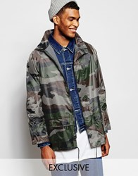 Reclaimed Vintage Festival Pac A Trench Jacket Green