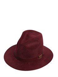 Dsquared Logo Hatband Detail Wool Felt Hat