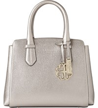 Lk Bennett Cassandra Leather Tote Cre Champagne