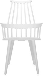 Kartell Comback Chair With Four Wooden Legs Set Of 2