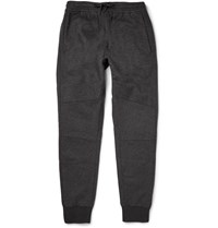 Nikelab Wool And Cashmere Blend Sweatpants Gray