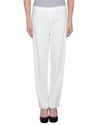 1 One Trousers Casual Trousers Women Ivory