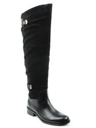 Daniel Saskia Over Knee Riding Boots Black