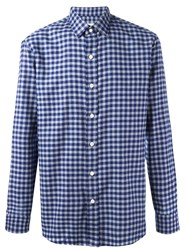 Salvatore Piccolo 'Close' Shirt Blue