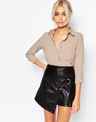 Fashion Union Shirt Taupe