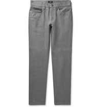 Dunhill Slim Fit Denim Jeans Gray