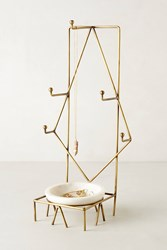 Anthropologie Radial Jewelry Stand Bronze