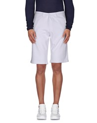 Sun 68 Trousers Bermuda Shorts Men White