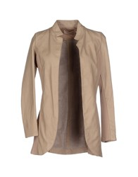 Kaos Jeans Coats And Jackets Jackets Women Beige