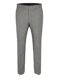 Alexandre Savile Row Birdseye Regular Fit Formal Suit Trouser Grey
