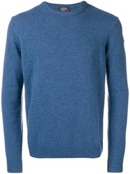 Paul And Shark Round Neck Jumper Blue