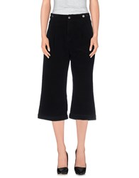 Sjyp Trousers 3 4 Length Trousers Black