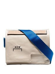 A Cold Wall Asymmetric Messenger Bag Neutrals