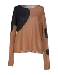 Giorgia And Johns Sweaters Light Brown