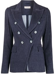 Circolo 1901 Double Breasted Fitted Blazer 60
