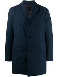 J. Lindeberg J.Lindeberg Wolger Single Breasted Coat Blue