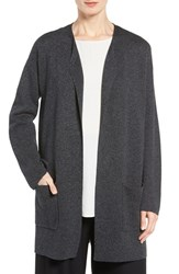 Eileen Fisher Women's Tencel And Merino Wool Long Cardigan