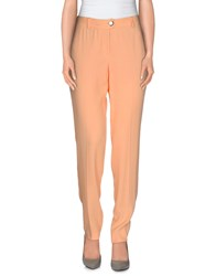 Byblos Trousers Casual Trousers Women Apricot