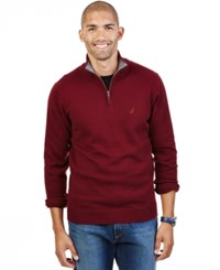Nautica Big And Tall Quarter Zip Sweater