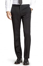 Men's Bonobos Flat Front Wool Tuxedo Trousers