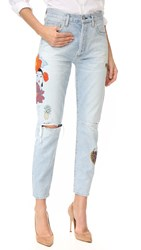 Citizens Of Humanity Liya High Rise Jeans Tropicalia Distressed Rock