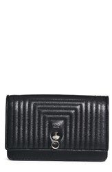 Fendi Women's Quilted Leather Wallet On A Chain