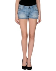 Wesc Denim Shorts Blue