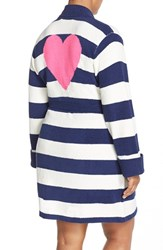 Plus Size Women's Betsey Johnson Heart Back Sweater Robe