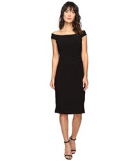 Rsvp Smith Off Shoulder Dress Black Women's Dress