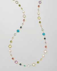 Ippolita 18K Gold Rock Candy Lollitini Necklace In Multi 36
