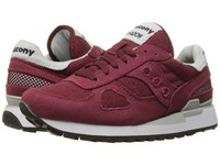 Saucony Shadow Vegan Burgundy Women's Classic Shoes