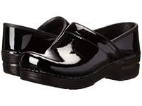 Dansko Professional Patent Leather Black Patent Leather Clog Shoes