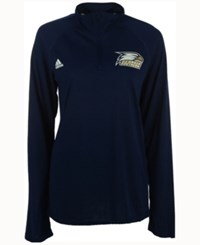 Adidas Men's Georgia Southern Eagles Primary Screen Ultimate Quarter Zip Pullover Navy