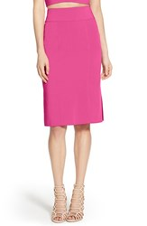 Women's Leith High Waist Skirt Pink Cyclamen