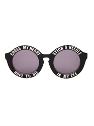 House Of Holland On A Promise Round Sunglasses
