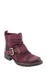 Earthr Women's Earth 'Jericho' Boot Wine Vintage Leather