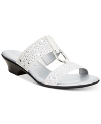 Karen Scott Eanna Sandals Created For Macy's Women's Shoes White