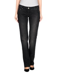 Patrizia Pepe Denim Denim Trousers Women Black