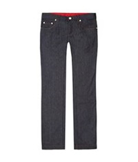Billionaire Slim Fit Logo Pocket Jeans Blue
