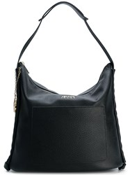 Armani Jeans Grained Tote Black