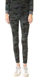 Sundry Skinny Sweatpants Charcoal Camo
