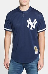 Mitchell And Ness Men's Mlb Mattingly Practice Jersey