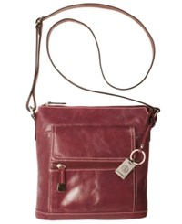 Giani Bernini Florentine Glazed Leather Venice Crossbody
