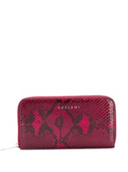 Orciani Python Effect Continental Wallet 60