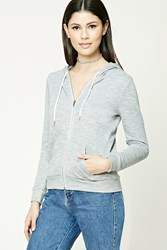 Forever 21 Marled French Terry Hoodie