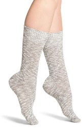 Treasure And Bond Boot Socks Charcoal Grey