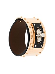 Givenchy Shark Tooth Studded Bracelet Black