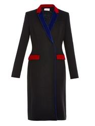 Christopher Kane Contrast Trim Tailored Coat