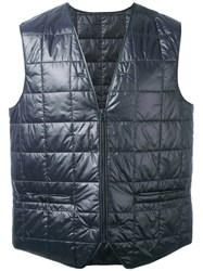 Stutterheim Padded Vest Men Nylon Polyester M Blue